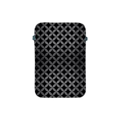 Circles3 Black Marble & Gray Brushed Metal (r) Apple Ipad Mini Protective Soft Cases