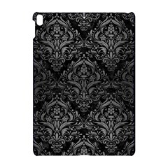 Damask1 Black Marble & Gray Brushed Metal (r) Apple Ipad Pro 10 5   Hardshell Case