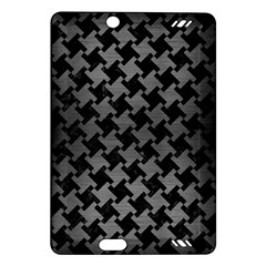 Houndstooth2 Black Marble & Gray Brushed Metal Amazon Kindle Fire Hd (2013) Hardshell Case