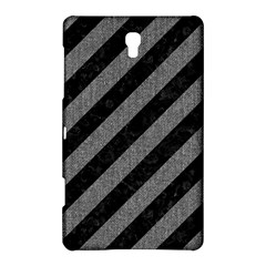 Stripes3 Black Marble & Gray Denim (r) Samsung Galaxy Tab S (8 4 ) Hardshell Case