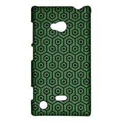 Hexagon1 Black Marble & Green Denim Nokia Lumia 720