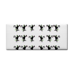 Floral Monkey With Hairstyle Cosmetic Storage Cases