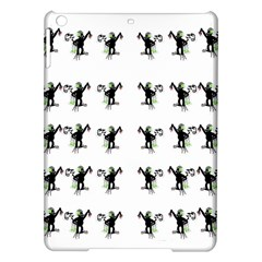 Floral Monkey With Hairstyle Ipad Air Hardshell Cases
