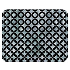 Circles3 Black Marble & Ice Crystals Double Sided Flano Blanket (medium)