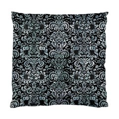 Damask2 Black Marble & Ice Crystals (r) Standard Cushion Case (two Sides)