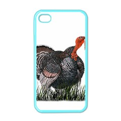 Thanksgiving Turkey Apple Iphone 4 Case (color)