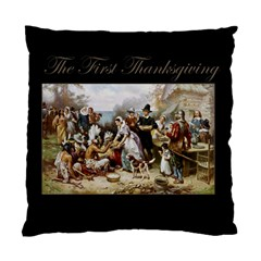 The First Thanksgiving Standard Cushion Case (two Sides)