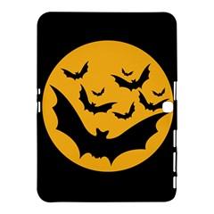 Bats Moon Night Halloween Black Samsung Galaxy Tab 4 (10 1 ) Hardshell Case