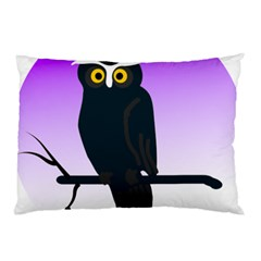 Halloween Owl Bird Animals Night Pillow Case