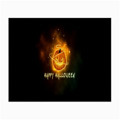 Happy Halloween Pumpkins Face Smile Face Ghost Night Small Glasses Cloth