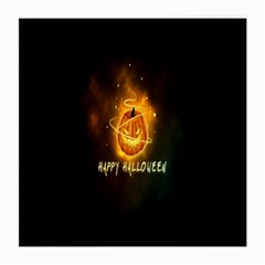 Happy Halloween Pumpkins Face Smile Face Ghost Night Medium Glasses Cloth (2 Side)