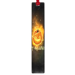 Happy Halloween Pumpkins Face Smile Face Ghost Night Large Book Marks
