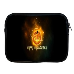 Happy Halloween Pumpkins Face Smile Face Ghost Night Apple Ipad 2/3/4 Zipper Cases