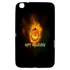 Happy Halloween Pumpkins Face Smile Face Ghost Night Samsung Galaxy Tab 3 (8 ) T3100 Hardshell Case