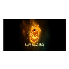 Happy Halloween Pumpkins Face Smile Face Ghost Night Satin Shawl