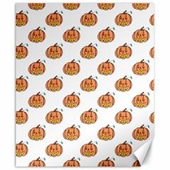 Face Mask Ghost Halloween Pumpkin Pattern Canvas 20  X 24