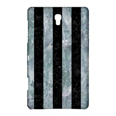 Stripes1 Black Marble & Ice Crystals Samsung Galaxy Tab S (8 4 ) Hardshell Case