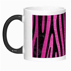 Skin4 Black Marble & Pink Brushed Metal (r) Morph Mugs