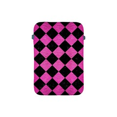 Square2 Black Marble & Pink Brushed Metal Apple Ipad Mini Protective Soft Cases