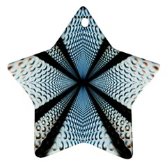 6th Dimension Metal Abstract Obtained Through Mirroring Ornament (star)