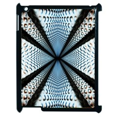 6th Dimension Metal Abstract Obtained Through Mirroring Apple Ipad 2 Case (black)