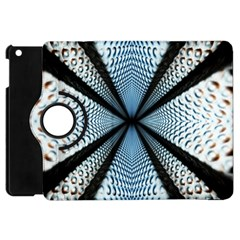 6th Dimension Metal Abstract Obtained Through Mirroring Apple Ipad Mini Flip 360 Case