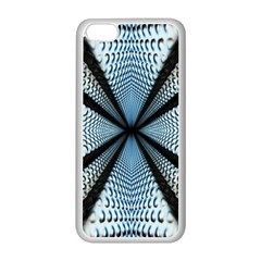 6th Dimension Metal Abstract Obtained Through Mirroring Apple Iphone 5c Seamless Case (white)