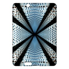 6th Dimension Metal Abstract Obtained Through Mirroring Kindle Fire Hdx Hardshell Case