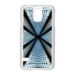 6th Dimension Metal Abstract Obtained Through Mirroring Samsung Galaxy S5 Case (white)