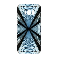 6th Dimension Metal Abstract Obtained Through Mirroring Samsung Galaxy S8 Hardshell Case