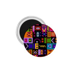 Abstract A Colorful Modern Illustration 1 75  Magnets