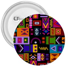Abstract A Colorful Modern Illustration 3  Buttons