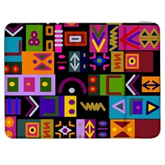 Abstract A Colorful Modern Illustration Samsung Galaxy Tab 7  P1000 Flip Case