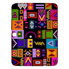 Abstract A Colorful Modern Illustration Samsung Galaxy Tab 3 (10 1 ) P5200 Hardshell Case