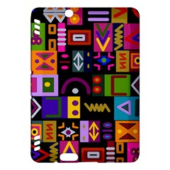 Abstract A Colorful Modern Illustration Kindle Fire Hdx Hardshell Case