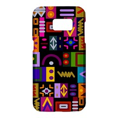 Abstract A Colorful Modern Illustration Samsung Galaxy S7 Hardshell Case