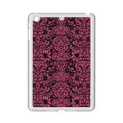 Damask2 Black Marble & Pink Denim (r) Ipad Mini 2 Enamel Coated Cases