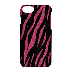 Skin3 Black Marble & Pink Denim (r) Apple Iphone 8 Hardshell Case