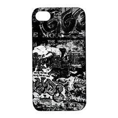 Graffiti Apple Iphone 4/4s Hardshell Case With Stand