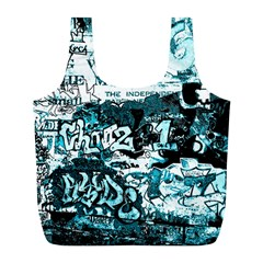 Graffiti Full Print Recycle Bags (l)