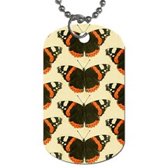Butterfly Butterflies Insects Dog Tag (one Side)
