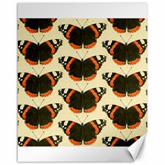 Butterfly Butterflies Insects Canvas 16  X 20
