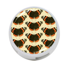 Butterfly Butterflies Insects 4 Port Usb Hub (one Side)