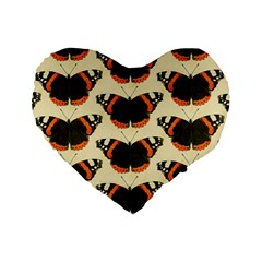 Butterfly Butterflies Insects Standard 16  Premium Heart Shape Cushions
