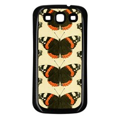 Butterfly Butterflies Insects Samsung Galaxy S3 Back Case (black)