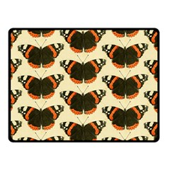 Butterfly Butterflies Insects Double Sided Fleece Blanket (small)