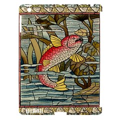 Fish Underwater Cubism Mosaic Apple Ipad 3/4 Hardshell Case (compatible With Smart Cover)