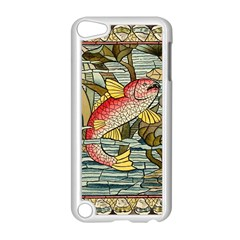 Fish Underwater Cubism Mosaic Apple Ipod Touch 5 Case (white)