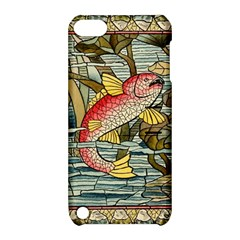 Fish Underwater Cubism Mosaic Apple Ipod Touch 5 Hardshell Case With Stand