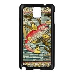 Fish Underwater Cubism Mosaic Samsung Galaxy Note 3 N9005 Case (black)